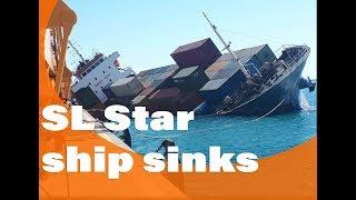 SL Star capsize (sinks)