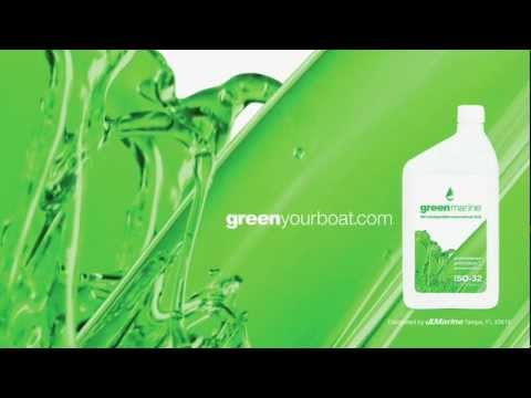 Green Marine ISO 32 High Performance Hydraulic Fluid