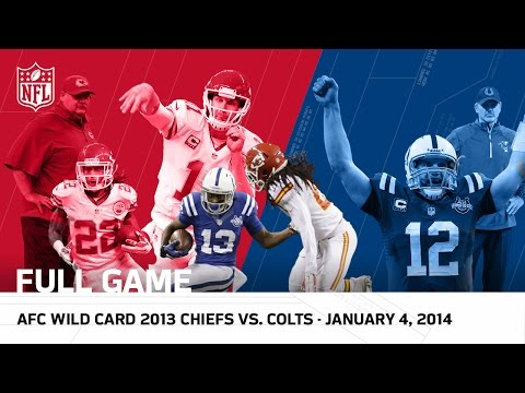 Andrew Luck's Massive Playoff Comeback | Colts vs. Chiefs | 2013 AFC Wild Card (FULL GAME) | NFL