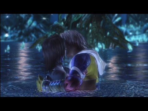 [PS3] Final Fantasy X HD Remaster: Tidus and Yuna - Kissing Scene
