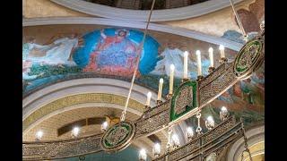 Божественная литургия в день собора Архангела Михаила
