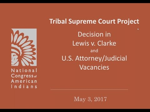 WEBINAR: Supreme Court Decision in Lewis v. Clarke