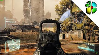 4K Crysis 3 Multiplayer #101 - DSG Sniping with [HNT] Stanchore | SKYLINE