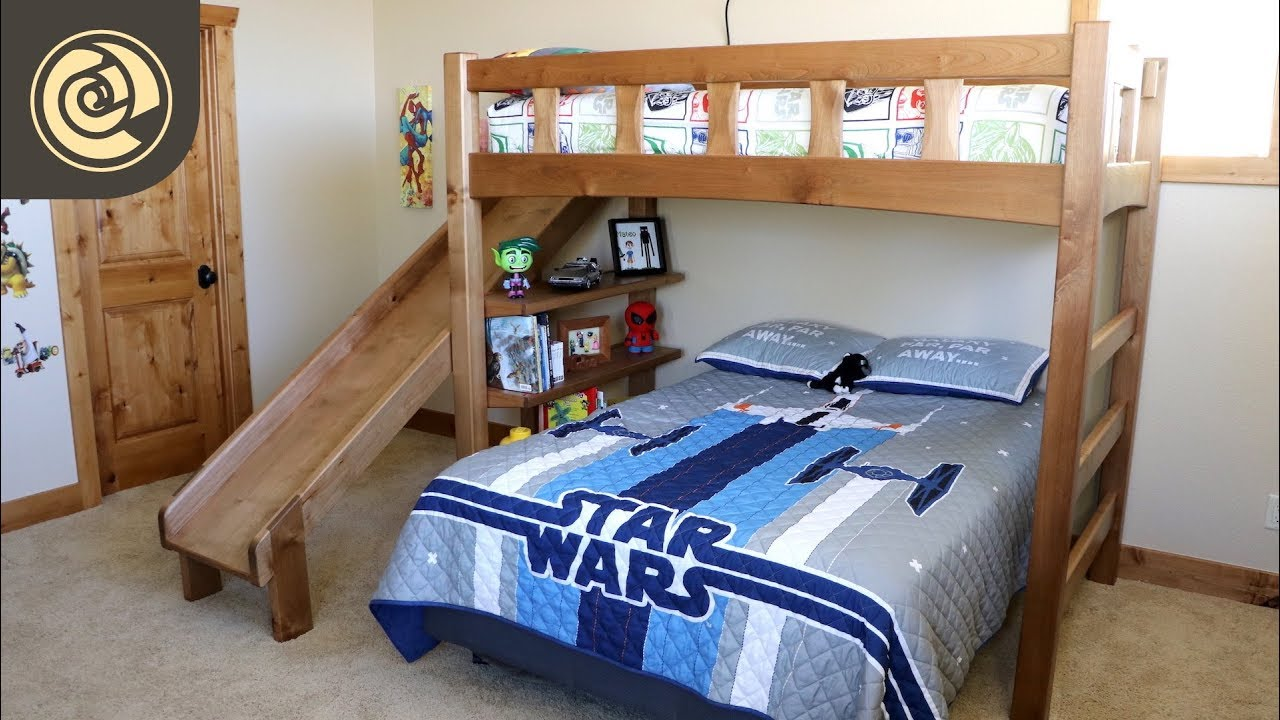 Bunk Bed With Slide You
