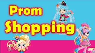 Shopkin Videos Shopkins Shoppies Go Prom Shopping Inspired By Cookie Swirl C