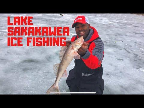 Lake Sakakawea Ice Fishing