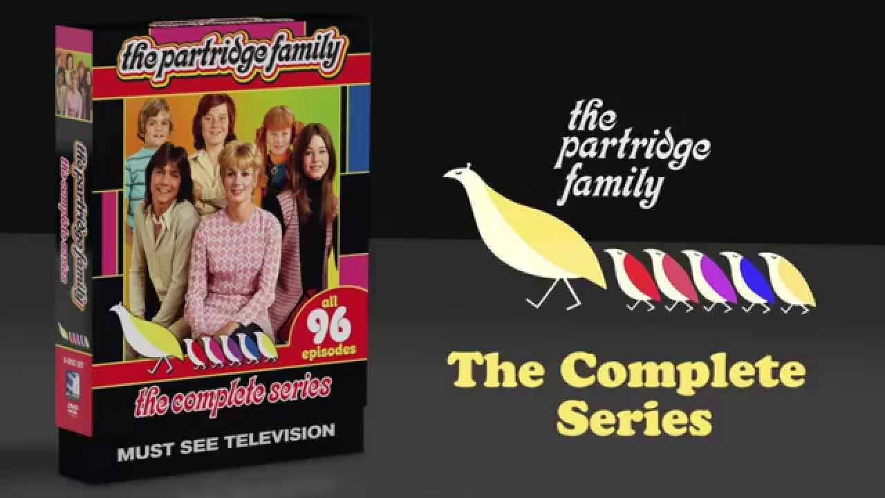 the partridge family complete series dvd youtube. Black Bedroom Furniture Sets. Home Design Ideas