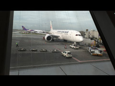 Japan Airlines 787-8 Business Class  BKK-NRT, Round the World 3-5