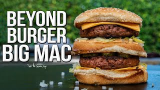 Beyond Burger Big Mac | SAM THE COOKING GUY 4K