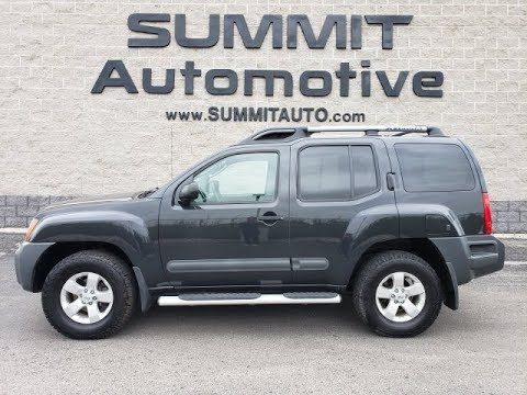 10299 2012 NISSAN XTERRA S NIGHT ARMOR METALLIC WALK AROUND REVIEW www.SUMMITAUTO.com