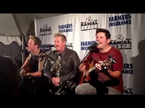 Banjo- Rascal Flatts (Backstage Acoustic Performance) (Washington DC) 09/28/13