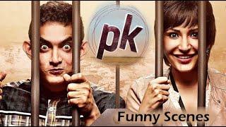PK movie comedy scenes || Funny scenes