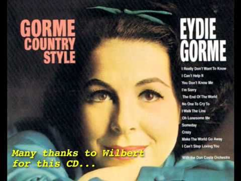 It Takes Too Long To Learn To Live Alone - Eydie Gorme on CD