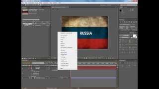 Уроки Adobe After Effects - Как создать ролик