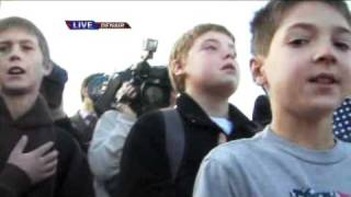 13 Year Old Flag Boy Gets Parade and Apology