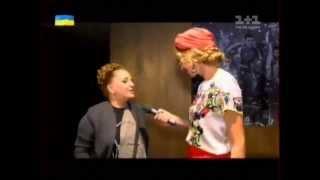 Нино Катамадзе в программе «Світське життя» с Катей Осадчей (выпуск от 27.06.2014)
