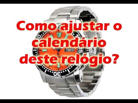 1b37cf8d964 Como ajustar o dia da semana português inglês de relógios automáticos