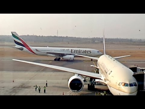 Spectacular Hyderabad Airport Time Lapse RGIA Intl.