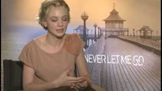 Carey Mulligan Interview for NEVER LET ME GO