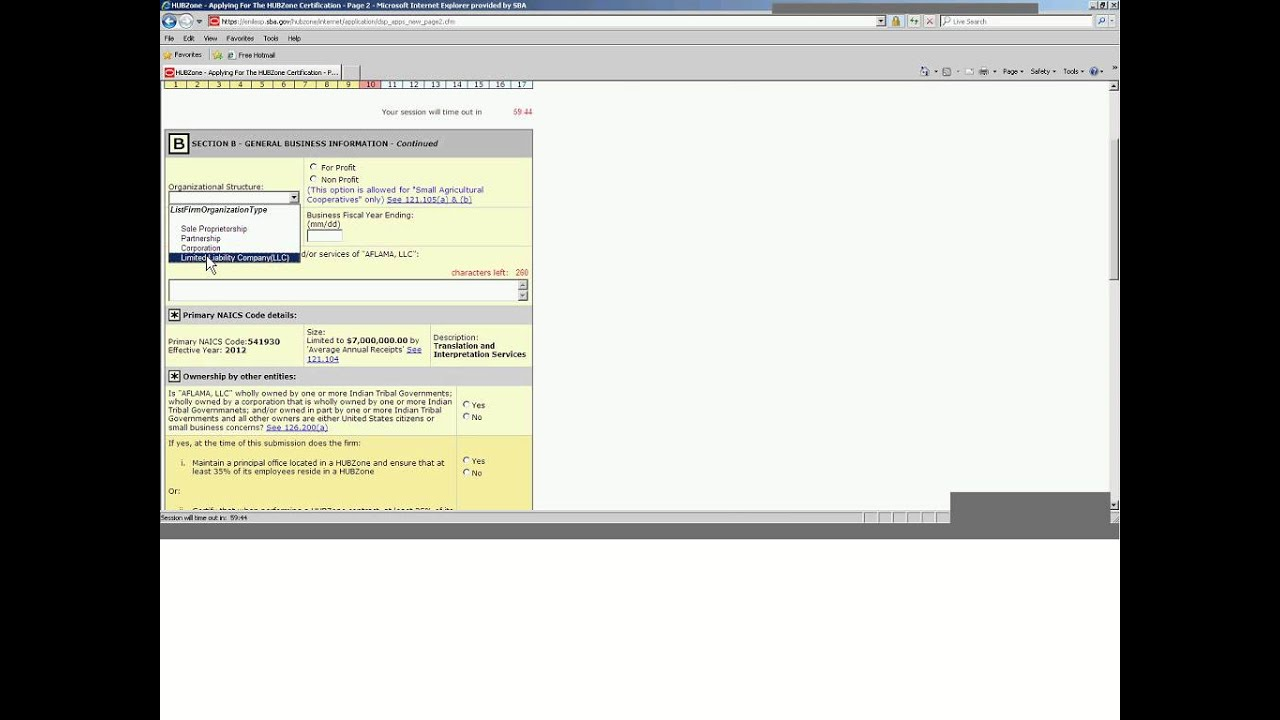 Sba Hubzone Program Webinar Training Youtube