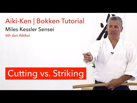 Cutting Vs. Striking - Aikido Bokken Tutorial