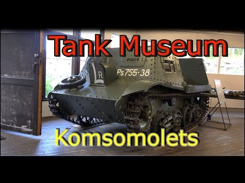 T-20 Komsomolets Artillery Tractor Worls war II
