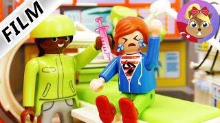 Playmobil hikayeleri türkçe - Çocuk AŞI Yaptırdı! Arda Iğneden Korkuyor - Harika Hikaye