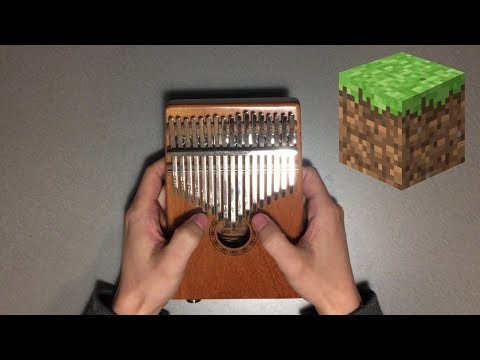 Minecraft Theme but it's played on a KALIMBA