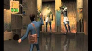 Night at the Museum: Battle of the Smithsonian Movie Game Walkthrough Part 7 (Wii)