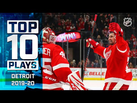 Top 10 Red Wings Plays Of 2019-20 ... Thus Far | NHL