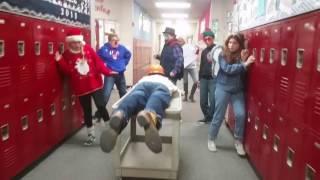 Longest Mannequin Challenge evah: Hellstern Middle School