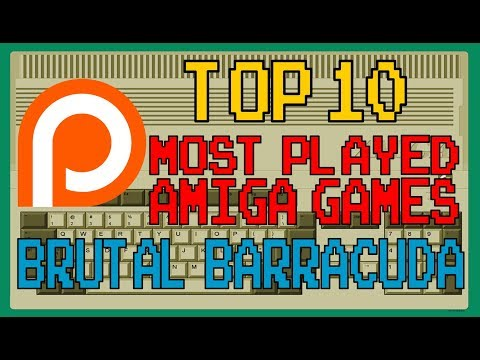 Patreon's - Top 10 Most Played Amiga Games - BrutalBarracuda