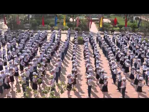 Đồng diễn Múa hát tập thể - Trường Tiểu học Kim Sơn