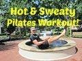 10 min HOT & SWEATY Pilates Workout - Sean Vigue Fitness