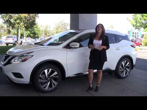 2017 Nissan Murano Platinum Edition Features - Future Nissan Of Folsom
