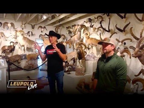 Leupold Live - Jim Shockey's 'Hand of Man' Museum Tour