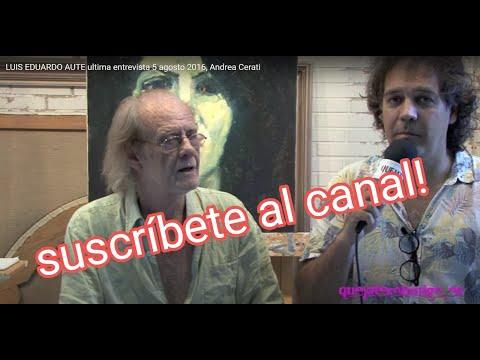LUIS EDUARDO AUTE  entrevista màs reciente 5 agosto 2016