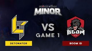 Lotac VS BOOM ID | Bo3 l UB Finals | StarLadder ImbaTV Dota 2 Minor SEA Qualifiers | Game 1