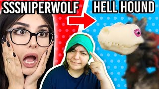 DRAMA & SNAKES! Turning YouTubers Into Monsters - SSSniperwolf