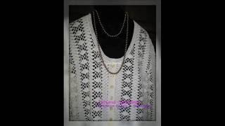 """Вязаный жакет крючком ручной работы """"Городской шик"""", большой размер, Knitted jacket crochet handmade"""