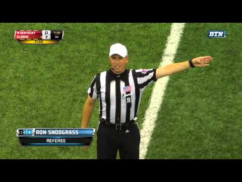 Sideline Interference #1 ~ (W. Kentucky-Illinois '14)