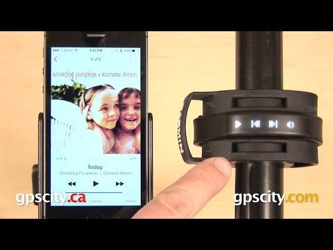 Garmin vivosmart: Music Control with GPS City