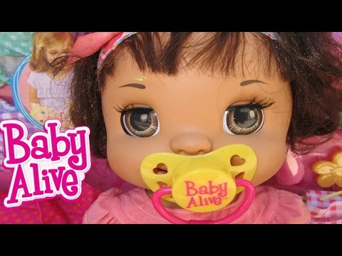 BABY ALIVE Margie McCabe Goes To Toys R Us + New Baby Alive Items & Dollhouse Items!