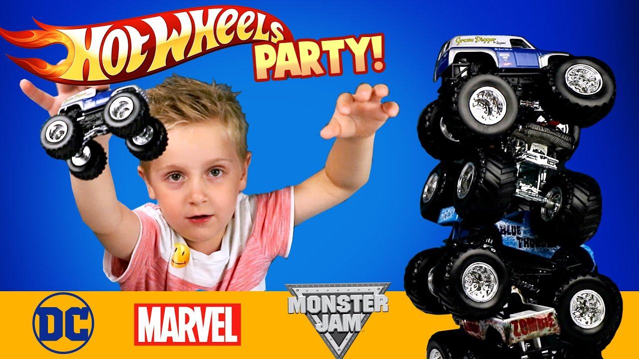wheels monster trucks u0026 marvel u0026 dc superheroes wheels car