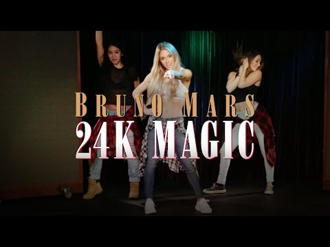 Bruno Mars - 24K Magic (Dance Tutorial)