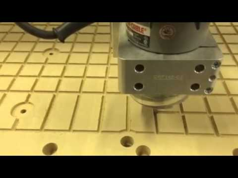 Cncrouterpartspro cutting a vacuum table