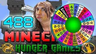 Minecraft: NEW GIZMO! Hunger Games w/Mitch! Game 488 - WHEEL OF WONDER!