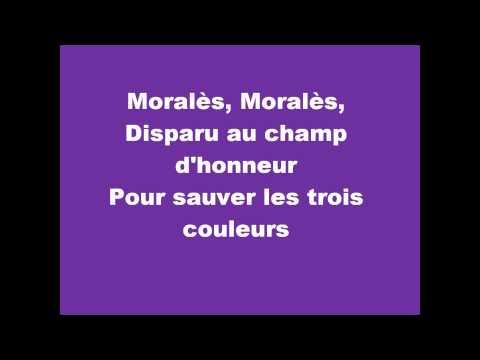 Didier Benureau - Chanson pour Morales (Clip Parole) - LYRICS {HQ}