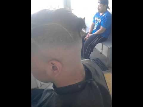 Aleman rap corte de pelo