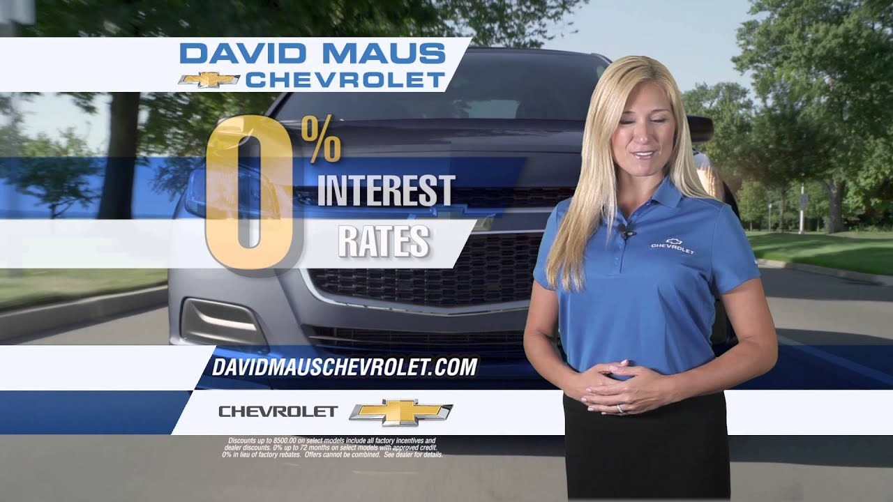David Maus Chevy >> Labor Day Weekend Sale At David Maus Chevrolet